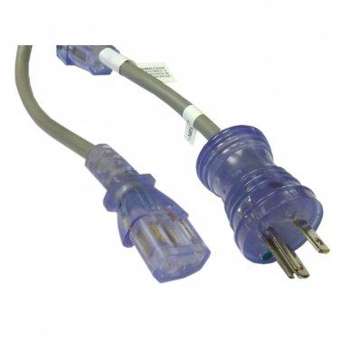 6ft Hospital Grade, Green Dot, Power Cord, Nema 5-15 to C13, 14 AWG, SJT, 15 Amp / 125 Volt 10W2-515