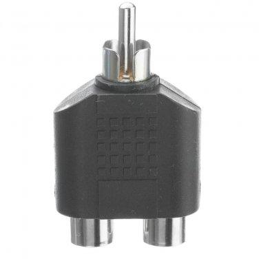 RCA Splitter / Adapter, RCA Male to Dual RCA Female