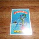 Garbage Pail Kids Crystal Gale 1986 Series 4 card