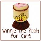 FREESHIP WINNIE THE POOH Manual Shift Knob Gear Stick Cover DISNEY Car Interior Bee-Licious #H