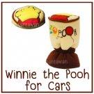FREESHIP WINNIE THE POOH Manual Shift Knob Gear Stick Cover DISNEY Car Interior Red Balloon #G