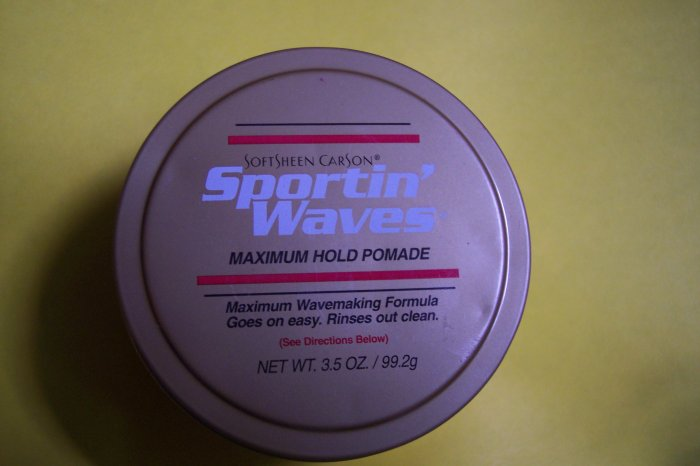 Sportin' Waves Pomade - maximum hold NEW!
