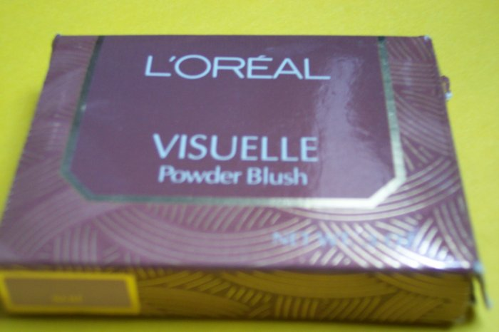 L'OREAL VISUELLE powder blush - NEW!