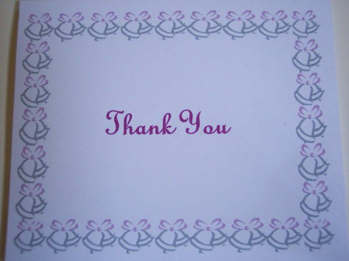 Wedding Bells Thank You Card