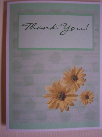 Delightful Daisy Thank You Card