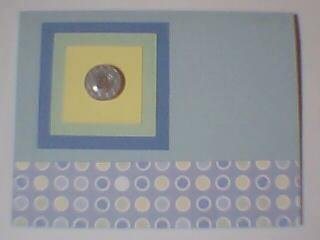 Postage Stamp Note Card