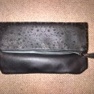 Black Cut Out Clutch Bag