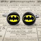 BATMAN SYMBOL Cuff links, silver color plated