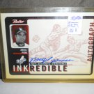 ANGEL PENA 1999 UD RETRO INKREDIBLE AUTO RC DODGERS