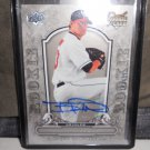 TROY PATTON 2008 UD A PIECE OF HISTORY ROOKIE AUTO RC #D/499 ORIOLES