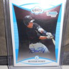 BUSTER POSEY 2008 BOWMAN CHROME DRAFT PROSPECTS AUTO RC GIANTS