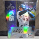 MIKE RIVERA 2003 DONRUSS CHAMPIONS AUTO RC #D/90 TIGERS / BREWERS