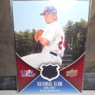 KEVIN RHODERICK 2009 UD USA NATIONAL TEAM JERSEY RC CUBS