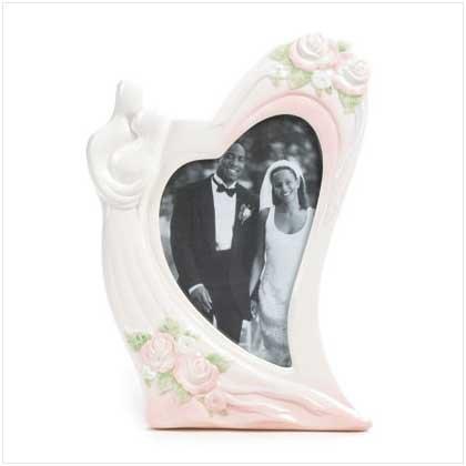 Heartfelt Wedding Photo Frame