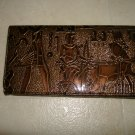 African Design Checkbook / Wallet