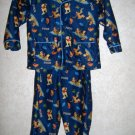 2 Pc Boy's Disney Pajama Set     Size 24 Months