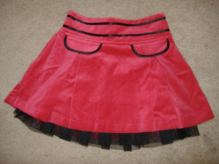 Girl's Velveteen Skirt By George   Size 7