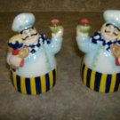 Fat Chef Salt & Pepper Shakers