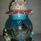 Holiday Collection Snowman Cookie Jar
