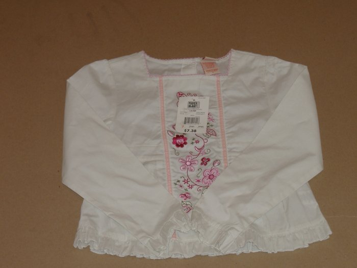 Girls Faded Glory Blouse  Size 7    ( New )