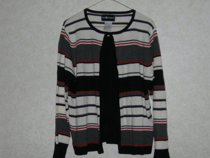 Ladies Sag Harbor Sweater      Size Large