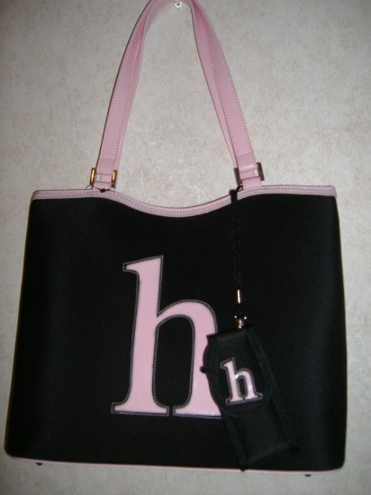 Large Intial Handbag w / Small h  New