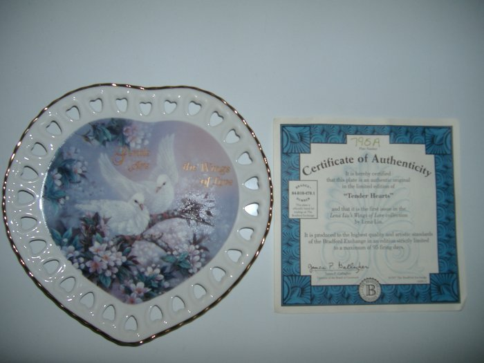 Gentle Are The Wing Of Love Collector Plate