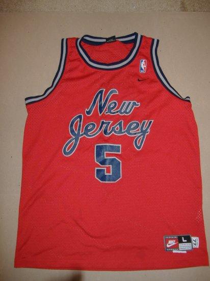 Jason Kidd New Jersey Net # 5
