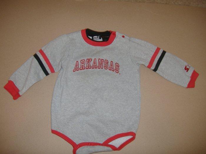 Infant  Arkansas Starter 1 Piece Outfit  Size 24 Months