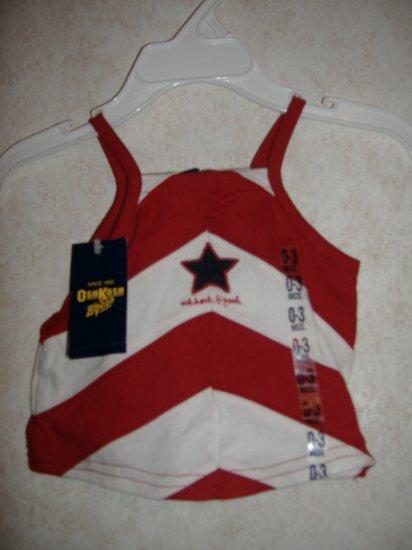 Infant  Girl Oshkosh Top Size 0-3 months