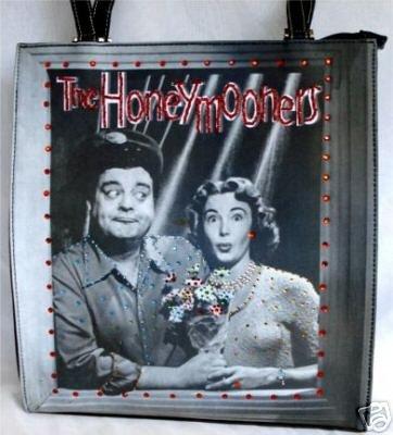 The Honeymooners Handbag w / Rhinestones