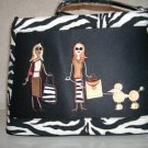 Walking Diva Zebra Handbag