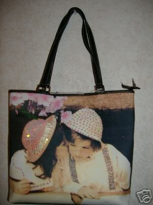 Sweet Nothing Handbag w / Rhinestones