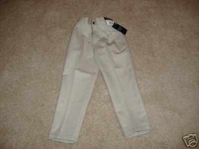 VanHeusen American Khakis Uniform Pants Size 5 Slim