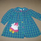 Toddler Girl Flannel Dress  - Size 2T
