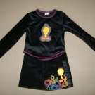 2 Peice Girl's Looney Tunes Set  - Size 4/5