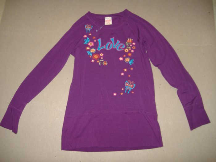 Girl Top By Fade Glory - Size 7/8