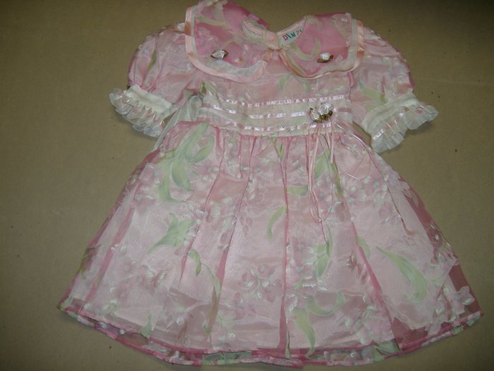 Girl's Dress By Dimples - Size 2T