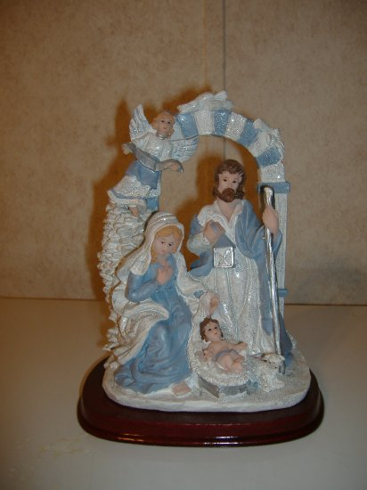 The Birth Of Baby Jesus Figurine