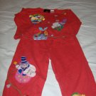 2 Peice Girls Pant & Top Set By Michael simon - Size 4T