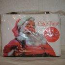 Santa Coke Time Handbag w/Rhinestones