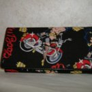 Betty Boop Biker Wallet / Checkbook Holder
