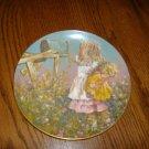 Star's Summer Porcelain Plate By Jessica Zemsky Schmid