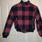 Ladies Wool Jacket By The Woolnich Woman  Size Small