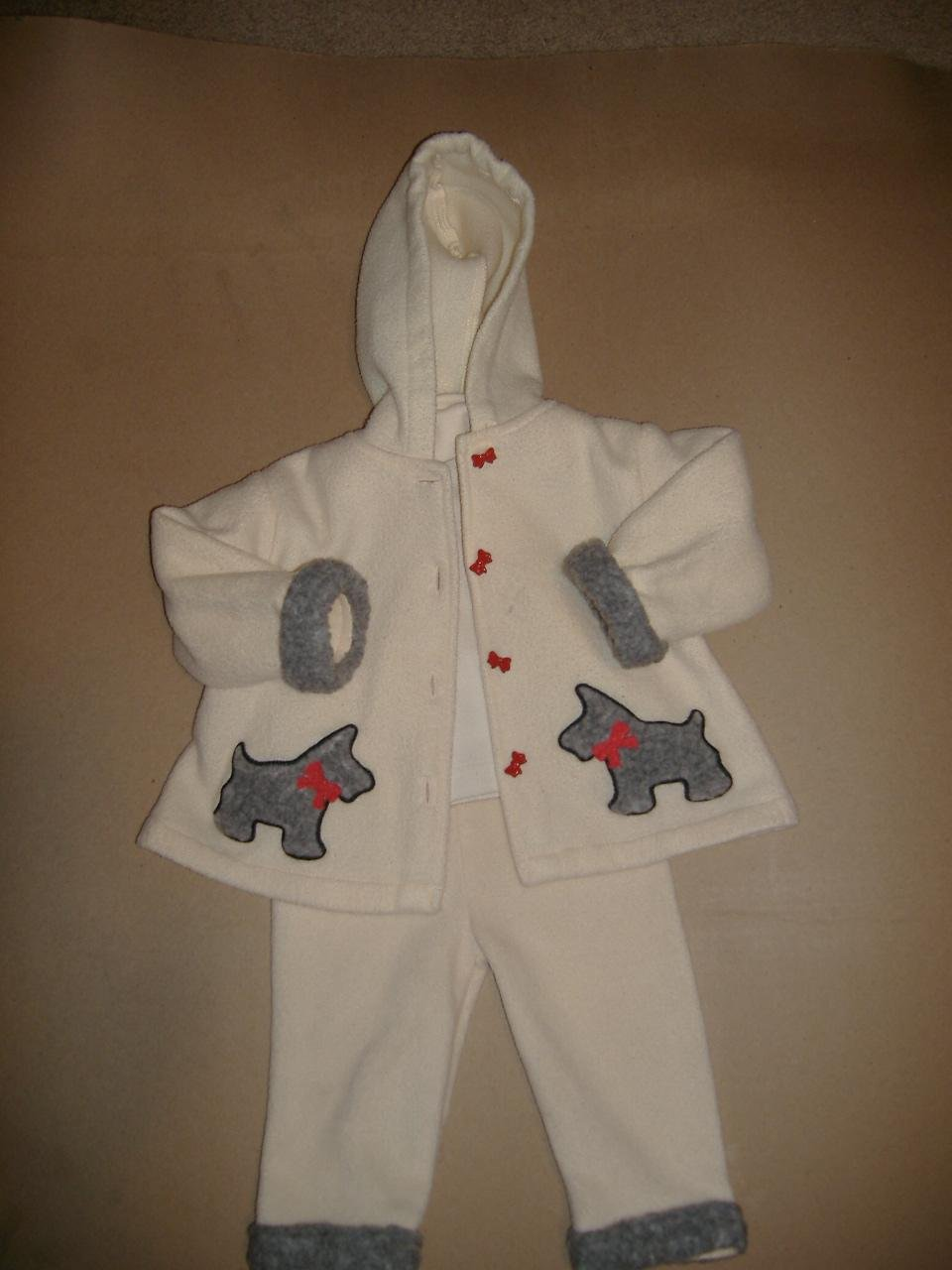 3 Piece Infant Girl Set By Kids Play