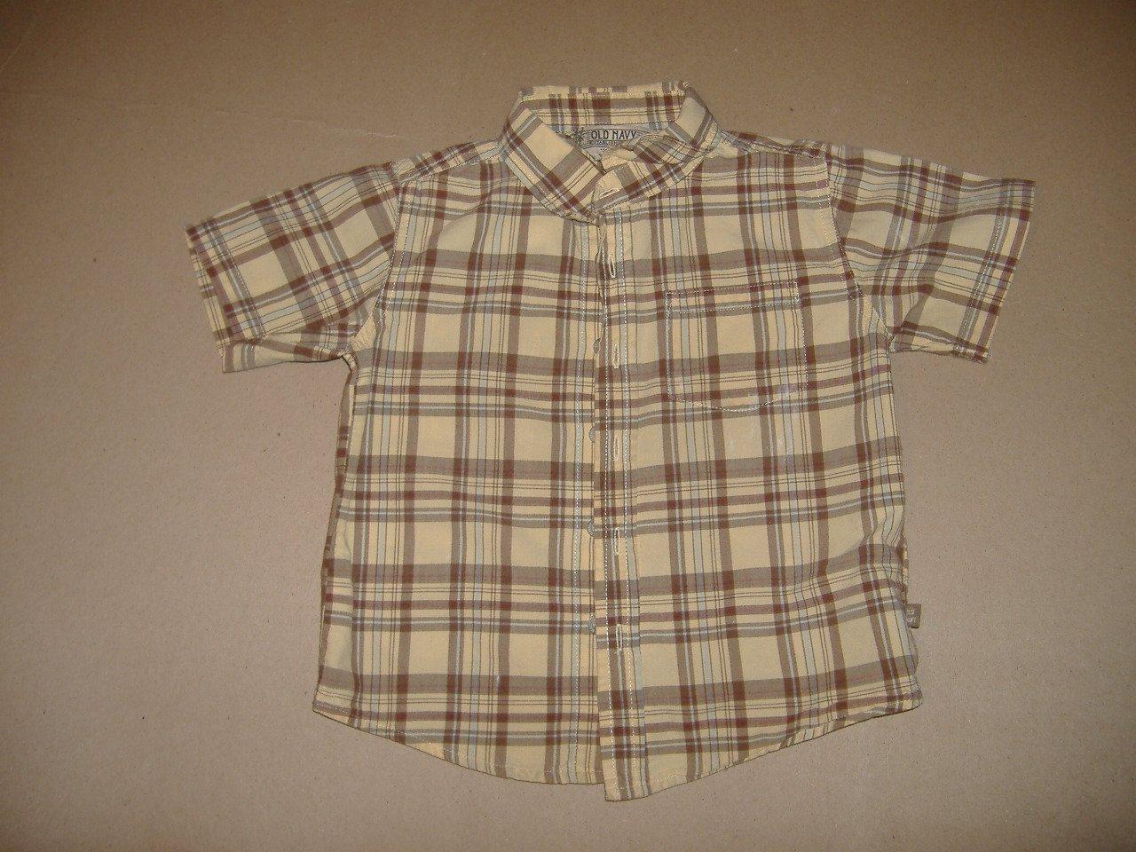 Old Navy Boy's Short Sleeve Shirt   Size 3T