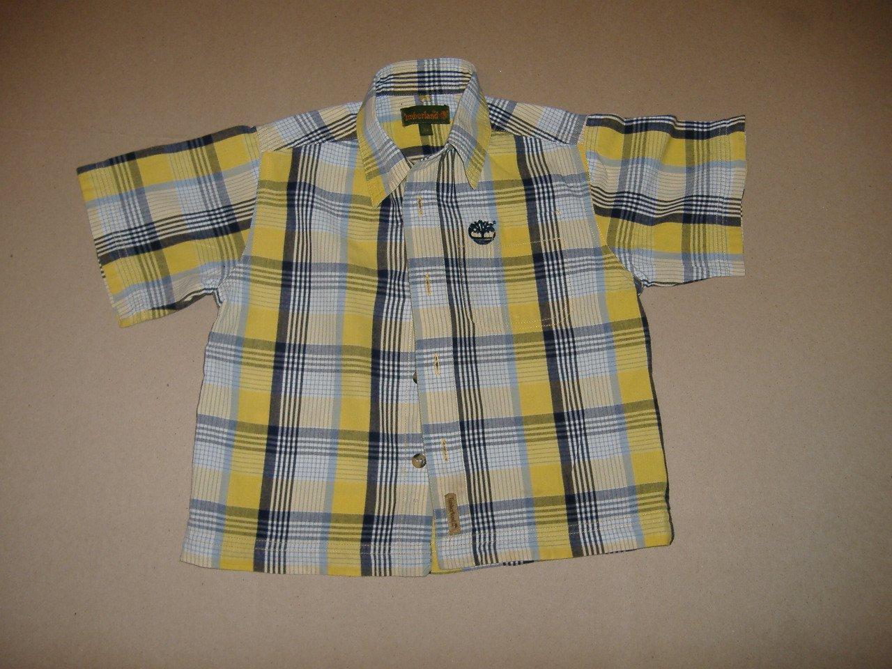 Timberland Boy's Short Sleeve Shirt   Size 3T