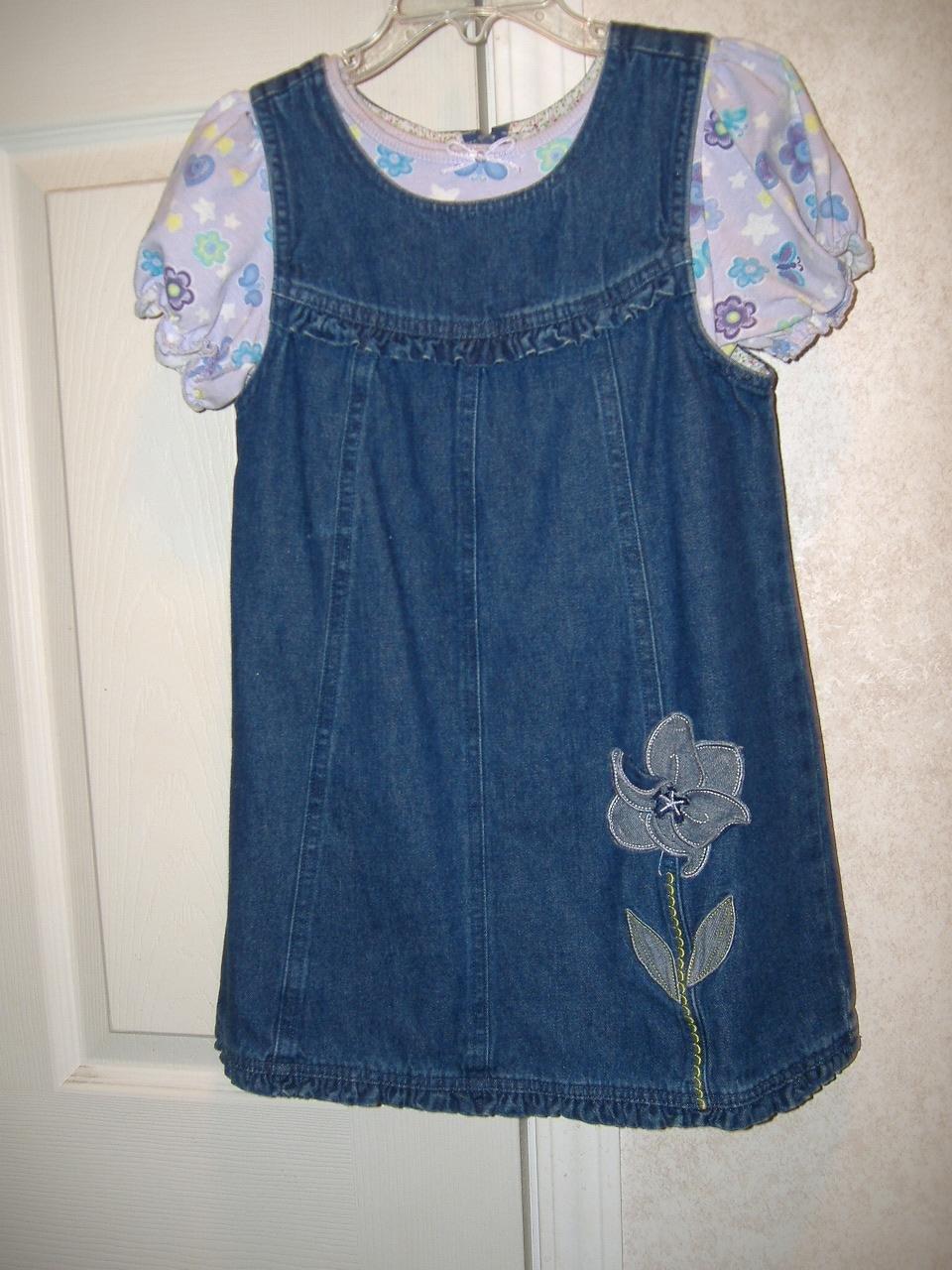 Fade Glory Girl's Denim Dress  Size 5T