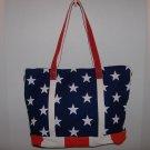 Women's Shoulder Bag w/ Flag Pattern