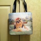 Time For A Nap.....Shih Tzu Rhinestone Handbag